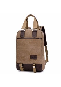 Korean Vintage Canvas Backpack Messenger Shoulder Carry Bag #3