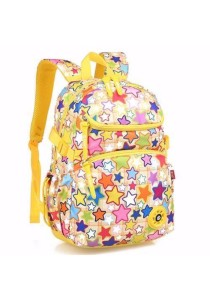 Kid Stylist Colourful Rainbow Backpack School Bag