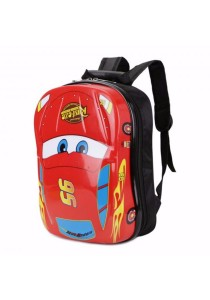 Korean Style Kid Backpack Kindergarden 3D Car Design School Bag (Hard Case)