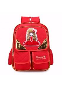 Kid Girl Princess School Quilted School Bag Backpack