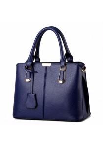 Ladies Leather Handbag Tote Bag (Deluxe Briefcase Design)