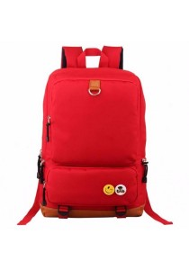 Big Capacity Nylon School Bag Travel Backpack Laptop Bag 5 Zipper Compartments