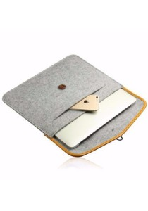 "15.6"" Sleeve Case Bag Notebook Cover Protect Case Thin Laptop with Button Closure #3"