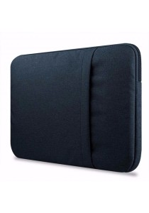 "Nylon 15"" Laptop Sleeve Case Bag Notebook Cover Protect Case Thin Laptop with Two Zipper Closure"