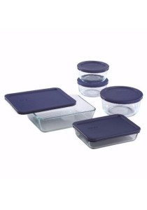 Pyrex 10 Piece Simply Store Food Storage Set (Clear)