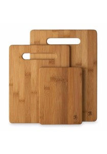 Totally Bamboo Cutting Board (Brown) (3-piece Set)