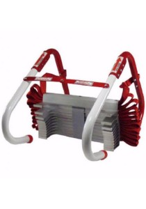 Kidde KL-2S Two-Story Fire Escape Ladder with Anti-Slip Rungs (13-Foot)