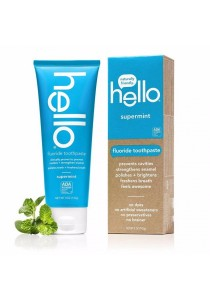 Hello Oral Care Fluoride Toothpaste Supermint 5 Ounce