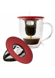 Primula Coffee Brew Buddy Single Cup Coffee Maker (Red)