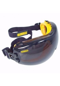 Dewalt DPG82-21C Concealer Smoke Anti-Fog Dual Mold Safety Goggle