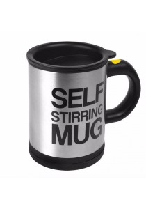 Self Stirring Mug Black