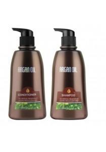 Morocco Argan Oil Shampoo 350ml + Morocco Argan Oil Conditioner 350ml (Value Set)