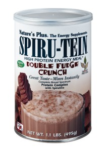 Nature's Plus SPIRU-TEIN Double Fudge Crunch