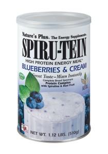 Nature's Plus SPIRU-TEIN Blueberries and Cream