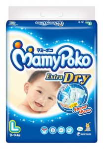 Mamypoko Extra Dry Diaper Super Jumbo Pack 50-Piece Large