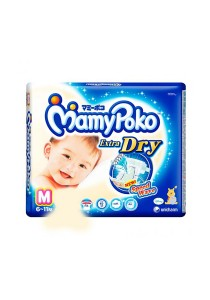 Mamypoko Extra Dry Diaper Super Jumbo Pack 60-Piece Medium