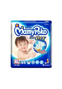 Mamypoko Extra Dry Diaper Super Jumbo Pack 44-Piece XL