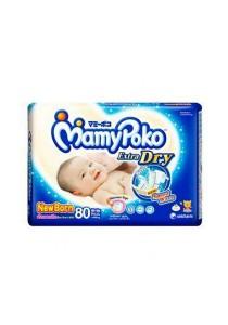 Mamypoko Extra Dry Diaper Jumbo Pack 80-Piece NewBorn
