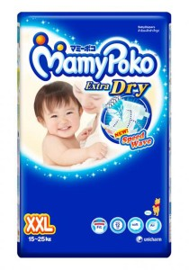 Mamypoko Extra Dry Diaper Jumbo Pack 34-Piece XXL