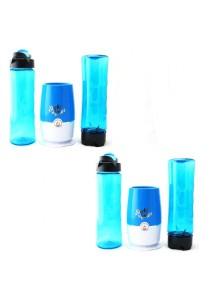 (Msia Power Plug) Shake N Take 3 Colorful Fruit Juice Blender With 2 Bottles (2 Units)