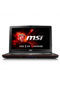 MSI GP62 6QF-1475 Black/Intel Skylake i7 - 2 years Warranty + FREE Laptop Bag