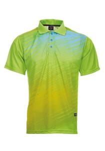 Dye Sublimation Polo T Shirt MSP 09 (Neon Green)