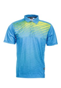 Dye Sublimation Polo T Shirt MSP 10 (Sea Blue)