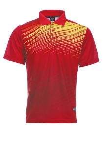 Dye Sublimation Polo T Shirt MSP 11 (Red)