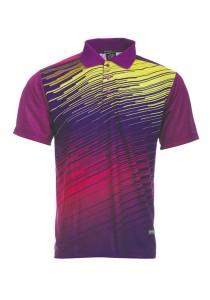 Dye Sublimation Polo T Shirt MSP 12 (Purple)