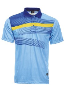 Dye Sublimation Polo T Shirt MSP 15 (Sea Blue)