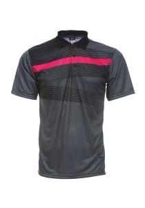 Dye Sublimation Polo T Shirt MSP 17 (Charcoal)