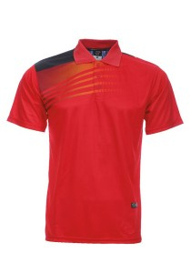 Dye Sublimation Polo T Shirt MSP 22 (Red)