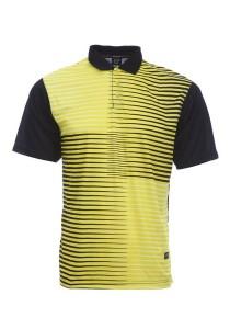 Dye Sublimation Polo T Shirt MSP 24 (Black)
