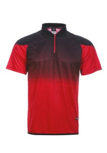 Dye Sublimation Polo T Shirt MSP 29 (Red)