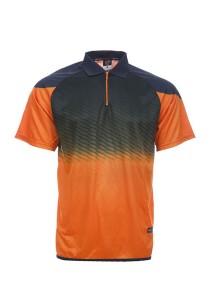 Dye Sublimation Polo T Shirt MSP 30 (Orange)