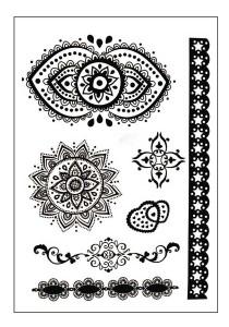 Maya Henna Temporary Tattoos