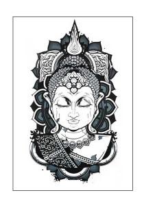 Buddha Temporary Tattoos