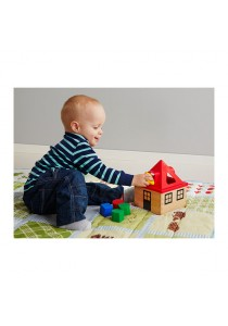 Colourful House with Shape Learner Toy