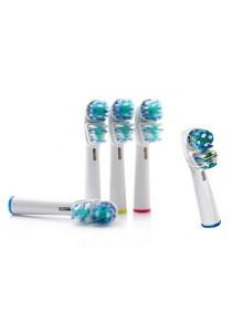 Braun Electronic Toothbrush Gesundleben Germany Brush Head Replacement (Dual Clean) 8 pcs
