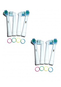 Braun Electronic Toothbrush Gesundleben Germany Brush Head Replacement (Precision Clean) 8 pcs