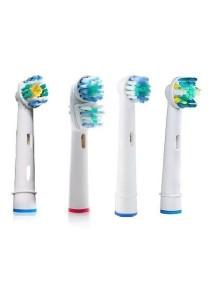 Braun Electronic Toothbrush Gesundleben Germany Brush Head Replacement Trial Pack (4 pcs)