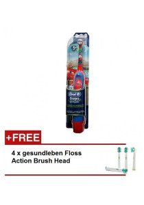 Braun Electronic Toothbrush for Kids Power Stages with Timer + Brush Heads