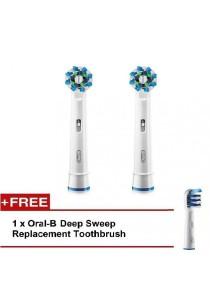Braun Oral-B Electronic Toothbrush Brush Head Replacement (CrossAction)