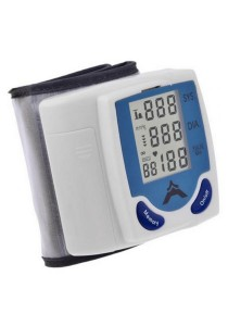 Blood Pressure Monitor & Heart Beat Meter (Wrist Type) with Authenticity Seal (Hologram)