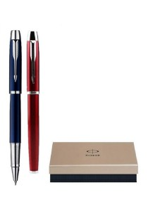 Limited Edition Parker IM Collection Roller Ballpoint Pen (For Him & Her) Gift Set