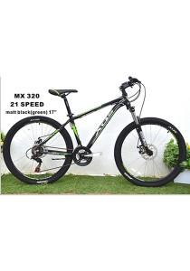 """26"""" XDS MX320 Matt Black (Red) (21 Speed) Size SM (16"""")"""