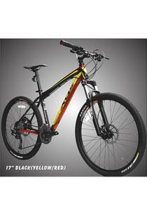 "26"" XDS MX7.3 Matt Black (Black/Red) (30 Speed) Deore Size SM (16"")"