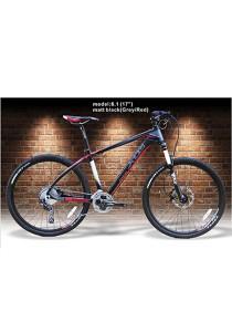 "26"" XDS MX8.1 Matt Black (Grey/Red) (30 Speed) Deore Size M (17"")"