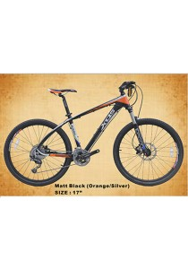 "26"" XDS MX8.2 Matt Black (Silver/Yellow) (30 Speed) Deore Size M (17"")"