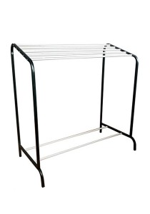 MHT 2m-2211 Towel Rack (Silver/Black)